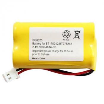 NiCD AA 700mAh 2.4V battery pack